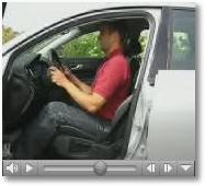 Fitness für Autofahrer - im Auto